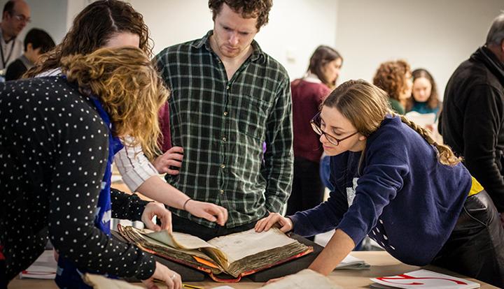 Postgraduate archival skills training