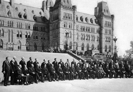 In 1932 the British Empire Economic Conference is held in Ottawa to debate the world financial crisis.