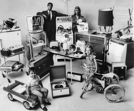Household appliances of 1962.