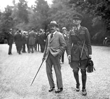 In David Lloyd George's governmental re-organisation of 1916, Sir Maurice Hankey (left) was appointed first Secretary to Cabinet. Hankey remained in the post for the next 22 years, until 1938.
