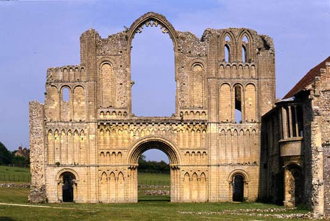 Castle Arcre Priory, Norfolk © English Heritage Photographic Library