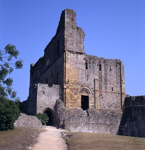 The Great Tower, Chepstow Castle. Cadw. Crown Copyright