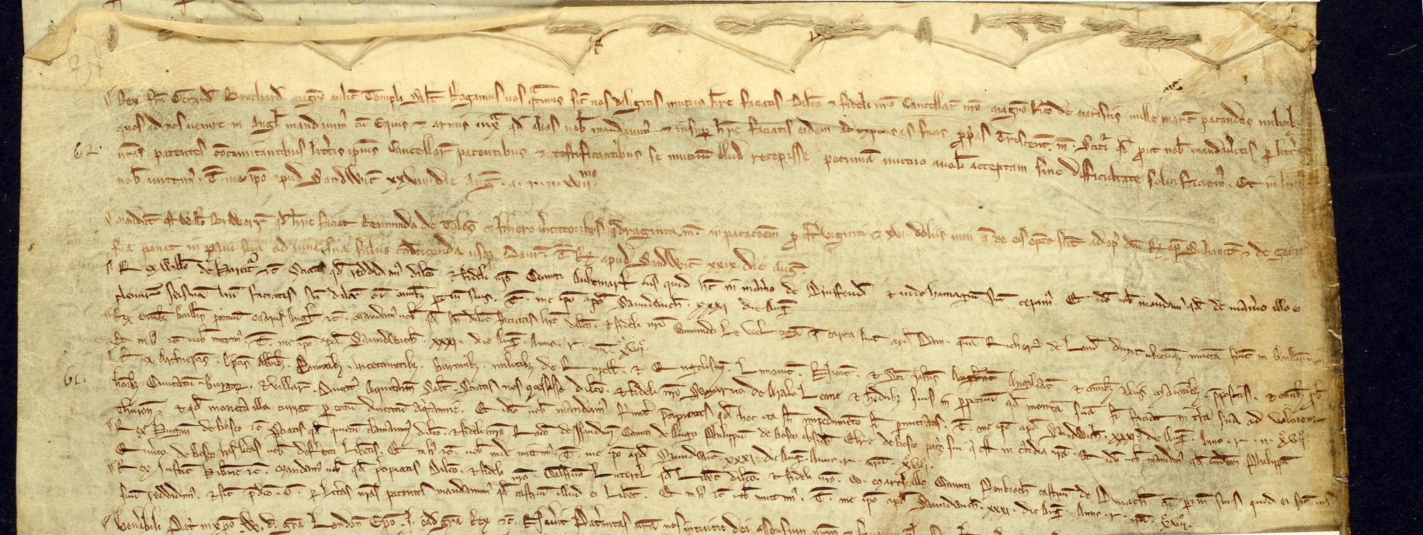 Study extract 2 from letters and grants of King John 1215