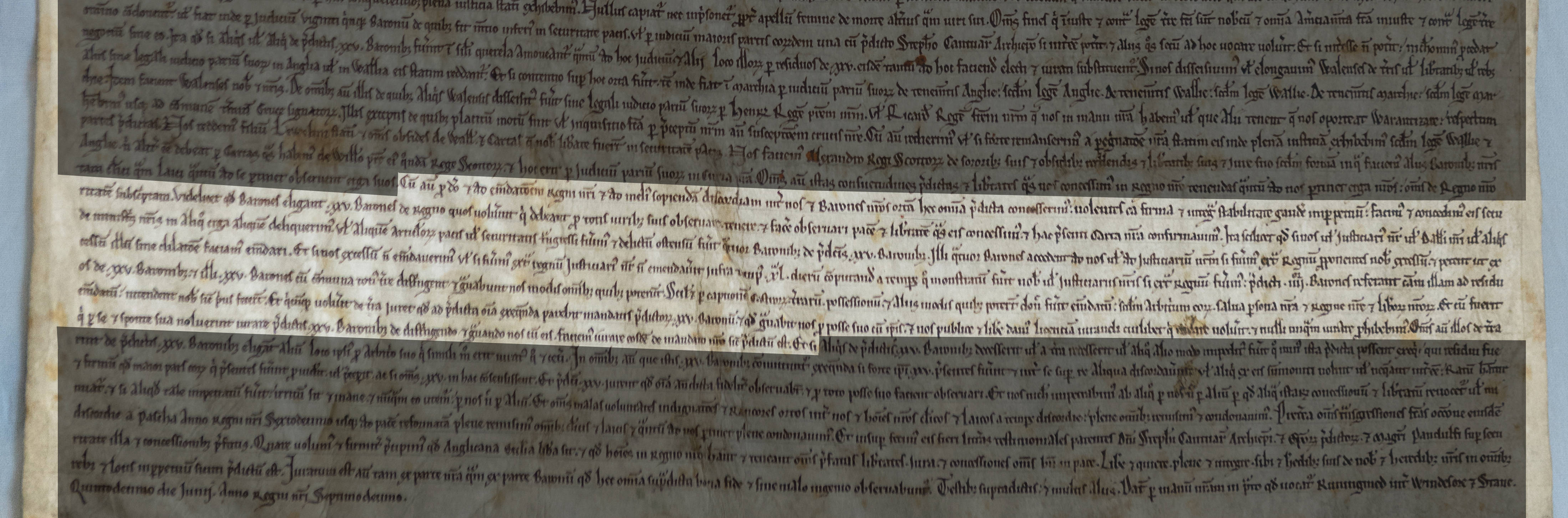 Clause 61 of Magna Carta 1215