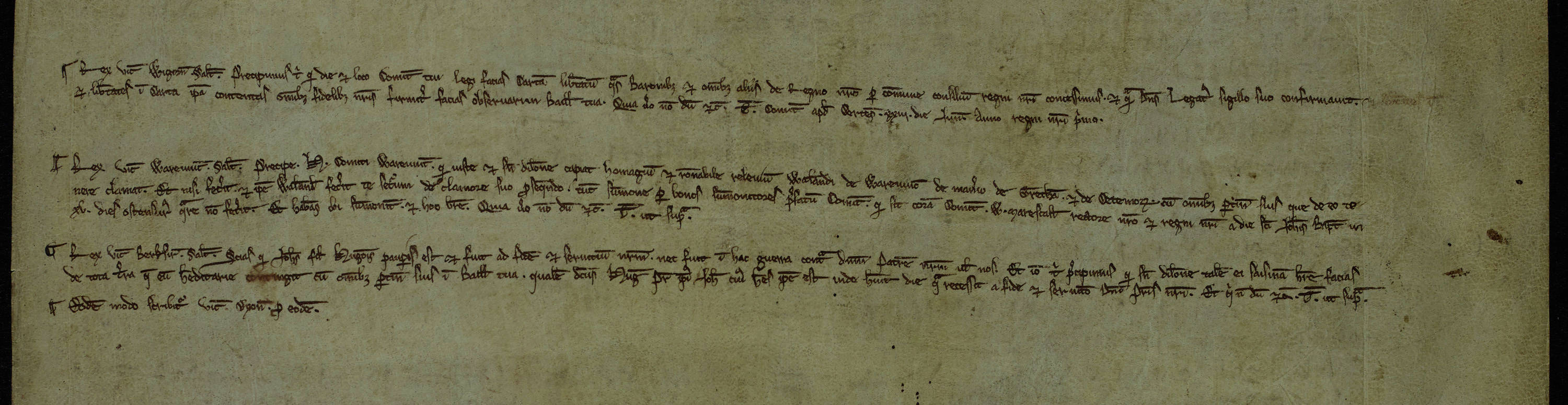 Study some royal orders from Henry III to Sheriff of Worcestershire