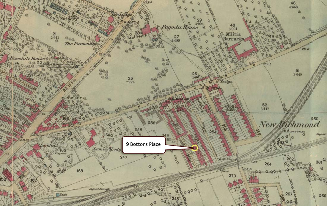 ordnance survey map of richmond surrey 1892 tna os 38111