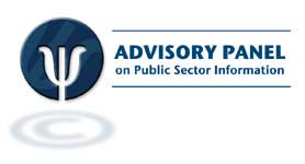 Logo of the Advisory Panel on Public Sector Information