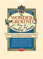 Wonderground Map of London Town 1914