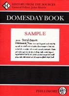Domesday Book: STAFFORDSHIRE