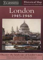London 1945-1948 Historical Map