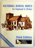 National Burial Index for England & Wales 3rd Edition