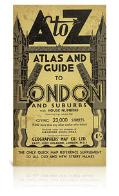 A-Z Atlas & Guide to London and Suburbs (1938 facsimile edition)