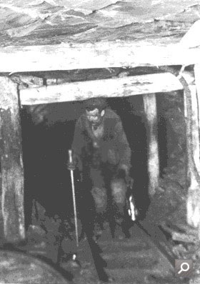 Photograph taken inside a coal mine (COAL 13/111)