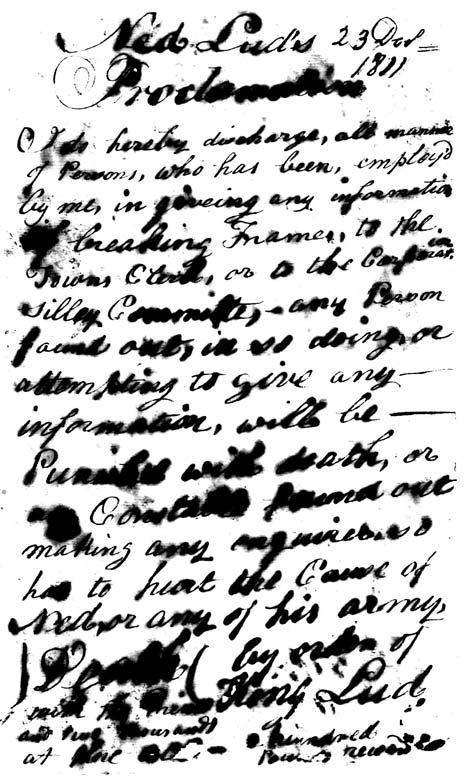 Very smudged, untidily handwritten letter. Ref: HO/42/118