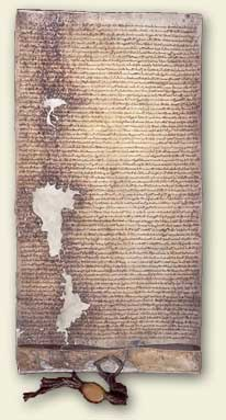 Magna Carta, third issue of Henry III. Ref:DL 10/71
