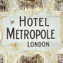 Showcard for the Métropole Hotel, London, 1900. Catalogue reference: COPY 1/171 folio 233