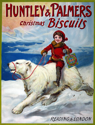 Huntley & Palmers Christmas biscuits, Reading and London, 1904. Catalogue reference: COPY 1/218 (370)