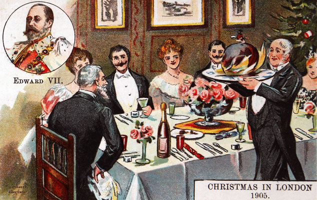 Christmas in London, 1905. Catalogue reference: COPY 1/232 (295)
