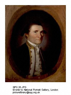 Captain Cook Copyright : National Portrait Gallery, London