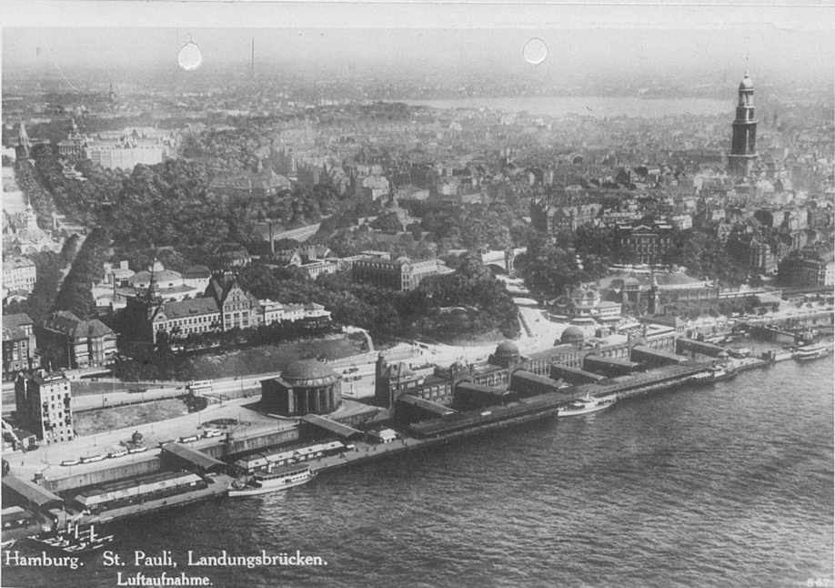 View of Hamburg taken 3rd September 1943; AIR 34/615