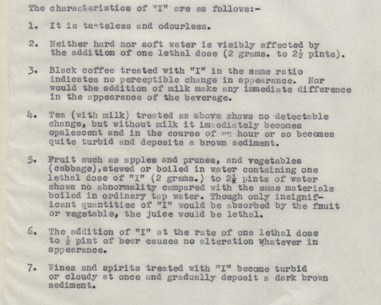 The Properties of 'I' - Operation Foxley 1944 (HS 6/624)