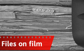 Banner for Files on Film competition