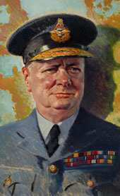 Winston Churchill in RAF uniform 1939-1946 (catalogue reference INF 3/3)