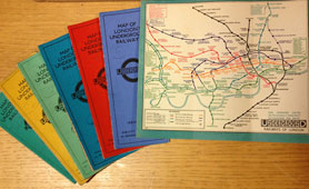 Pocket maps from the early 1900s