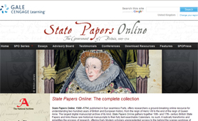 Tudor and Stuart state secrets online (UK)