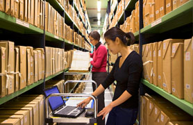 Working in archives