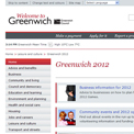 Greenwich 2012 website