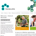 Voluntary Arts Network Cultural Olympiad website