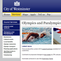 Westminster 2012 website