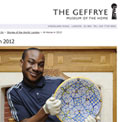 Geffrye Museum At home 2012 - archived website