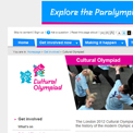 London 2012 Cultural Olympiad website