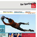 Our Sporting Life website