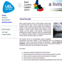 East London Lives website