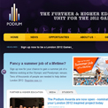 Podium website