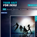 Team East for Skills website