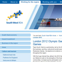 South West Regional Development Agency 2012 archived website