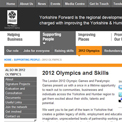 Yorkshire Forward 2012 archived website