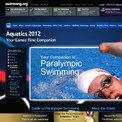 British Swimming Paralympics website