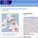 Great Britain Diving Federation website
