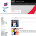 British Paralympic Association - Paralympic sportswebsite