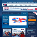 Royal Yachting Association website