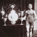 David Billington, champion swimmer, 1900-1. COPY 1/455 (396)