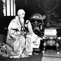 The abbot of Ikegami Herbert G Ponting, 1907. COPY 1/507 (163)