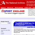 Sport England 2004 archived website