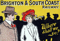 Podcast: Time travel: a journey through the timetables of the London, Brighton and South Coast Railway 1860-1901 (UK)