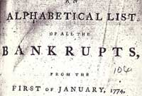 Podcast: Credit crunch histories: records of bankrupts in The National Archives (UK)
